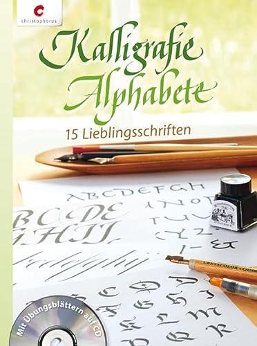9783838834719: Kalligrafie Alphabete