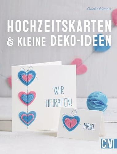 Hochzeitskarten & kleine Deko-Ideen: Claudia Günther