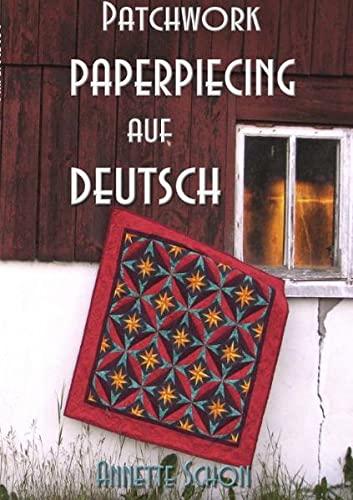 9783839114773: Patchwork, Paper Piecing auf Deutsch (German Edition)