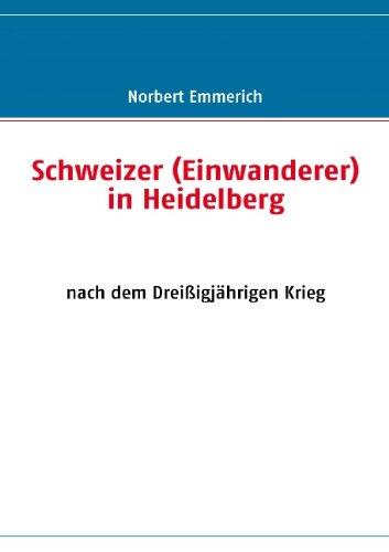 9783839116272: Schweizer (Einwanderer) in Heidelberg