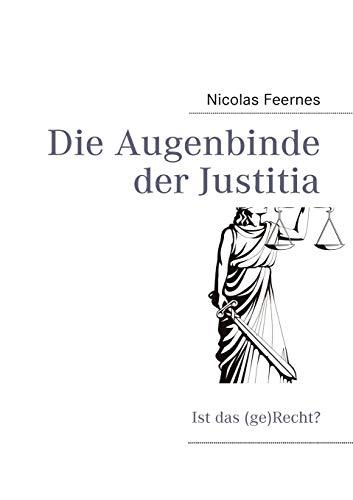 9783839117729: Die Augenbinde der Justitia