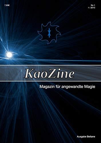 9783839141366: KaoZine - Magazin für angewandte Magie