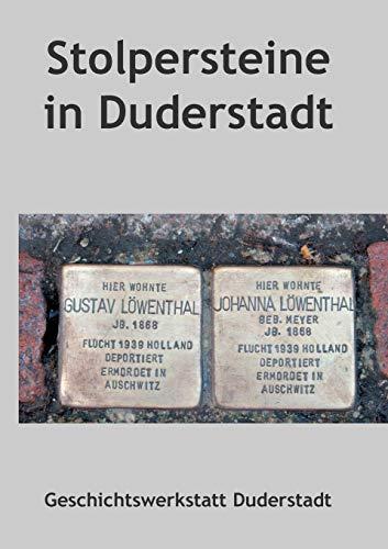 9783839141403: Stolpersteine in Duderstadt (German Edition)
