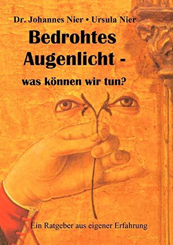 9783839149591: Bedrohtes Augenlicht (German Edition)