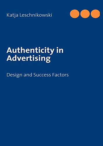 9783839150238: Authenticity in Advertising