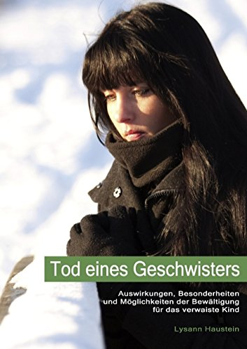 9783839165195: Tod eines Geschwisters (German Edition)