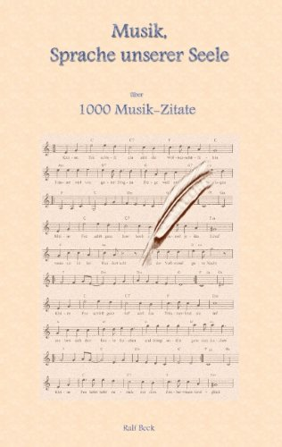 Musik, Sprache Unserer Seele - Ralf Beck