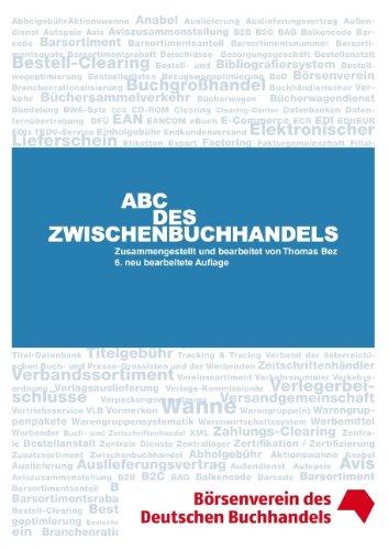 ABC des Zwischenbuchhandels - Thomas Bez