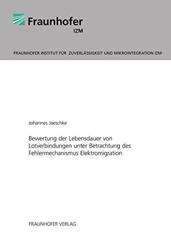 Bewertung der Lebensdauer von Lotverbindungen unter Betrachtung des Fehlermechanismus ...