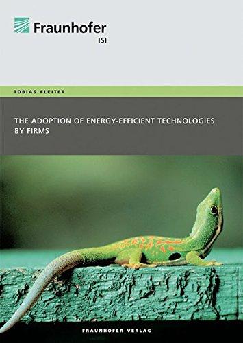 The adoption of energy-efficient technologies by firms: Tobias Fleiter