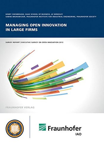 9783839605745: Managing open innovation in large firms.