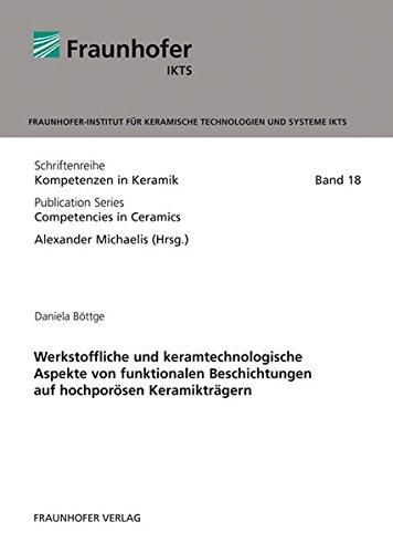 9783839606193: Werkstoffliche und keramtechnologische Aspekte von funktionalen Beschichtungen auf hochporösen Keramikträgern