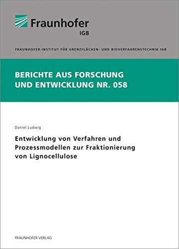 Entwicklung von Verfahren und Prozessmodellen zur Fraktionierung von Lignocellulose: Daniel Ludwig