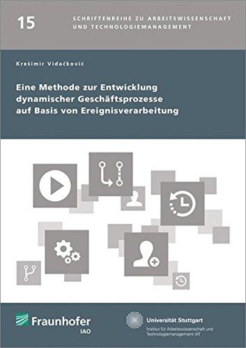 Eine Methode zur Entwicklung dynamischer Geschaftsprozesse auf Basis von Ereignisverarbeitung: ...