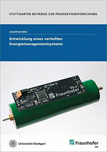 9783839609095: Entwicklung eines verteilten Energiemanagementsystems