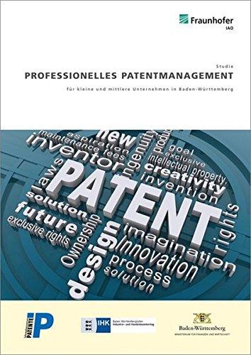 Professionelles Patentmanagement für kleine und mittlere Unternehmen in Baden-Württemberg...
