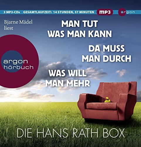 9783839813638: Die Hans Rath Box: Inhalt: Man tut was man kann, Da muss mann durch, Was will man mehr