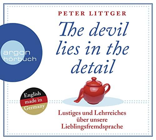 9783839814499: The devil lies in the detail: Lustiges und Lehrreiches über unsere Lieblingsfremdsprache