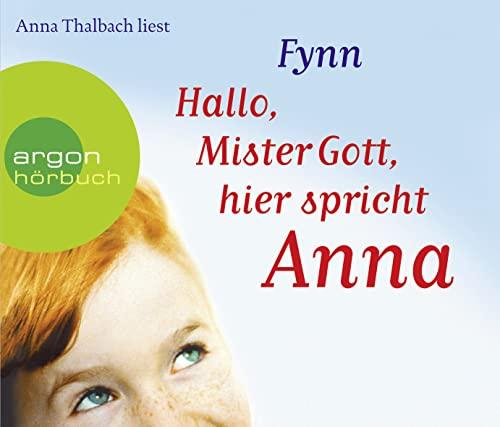 9783839840146: Hallo, Mister Gott, hier spricht Anna (Horbestseller) (4 CDs)