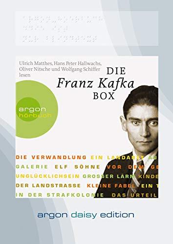 9783839850176: Kafka, F: Franz Kafka Box (DAISY Edition)