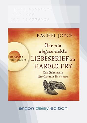 9783839852231: Der nie abgeschickte Liebesbrief an Harold Fry (DAISY Edition): Das Geheimnis der Queenie Hennessy