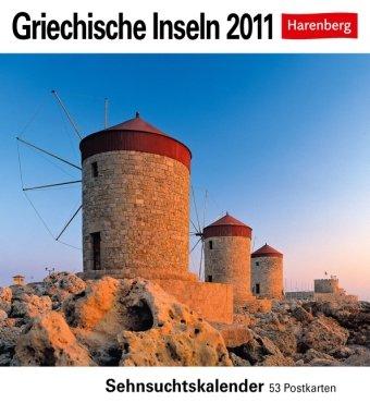 9783840000577: Griechische Inseln 2011: Sehnsuchts-Kalender. 53 heraustrennbare Farbpostkarten