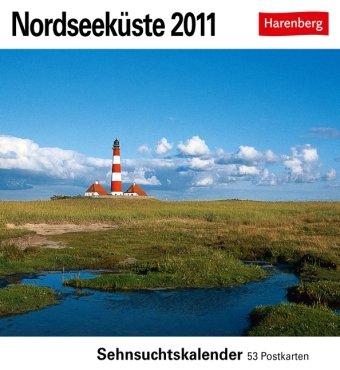 9783840000645: Nordseeküste 2011: Sehnsuchts-Kalender. 53 heraustrennbare Farbpostkarten