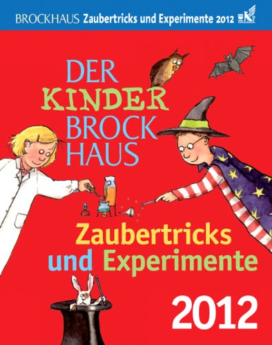 9783840003110: Der Kinder Brockhaus Kalender Zaubertricks und Experimente 2012