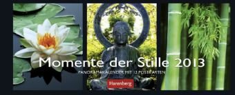 9783840005992: Momente der Stille 2013 Panorama Postkarten: Panoramakalender mit 12 Postkarten
