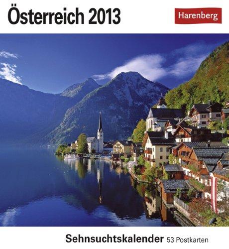 9783840006135: Österreich 2013: Sehnsuchtskalender. 53 heraustrennbare Postkarten
