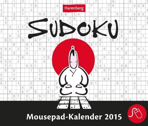 9783840008900: Sudoku Mousepadkalender 2015