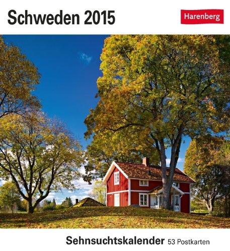 9783840009464: Schweden Sehnsuchtskalender 2015: Sehnsuchtskalender, 53 Postkarten