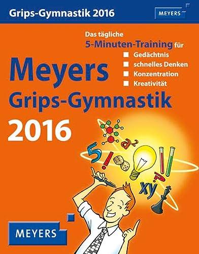 9783840011276: Meyers Grips-Gymnastik 2016