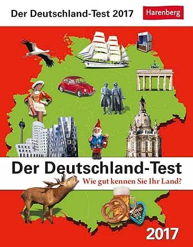 9783840014604: Der Deutschland-Test Wissenskalender 2017