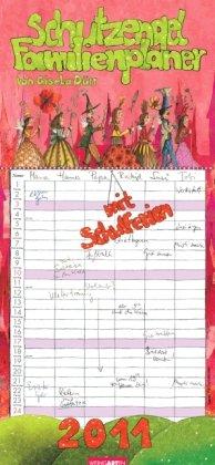 9783840052217: Schutzengel Familienplaner 2011