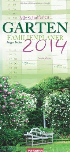 9783840060199: Garten Familienplaner 2014 / Garden 2014 / Jardin 2014