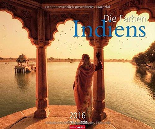 9783840064272: Die Farben Indiens 2016