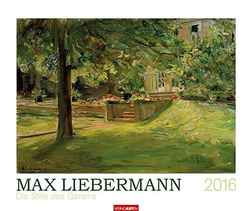 9783840064357: Max Liebermann - Die Stille des Gartens 2016