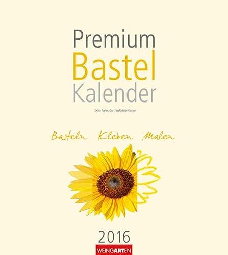9783840065804: Premium Bastelkalender Champagner 2016