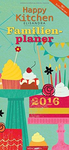 9783840066184: Familienplaner Happy Kitchen 2016