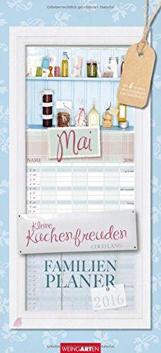 9783840066337: Familienplaner Kleine Küchenfreuden 2016