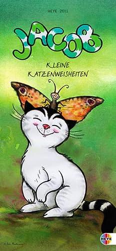 9783840100888: Jacob Katzenweisheiten slim 2011