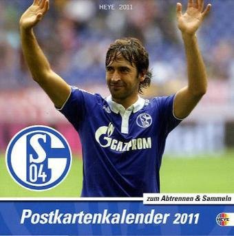 9783840102189: FC Schalke 04 2011. Sammelkarten Postkartenkalender