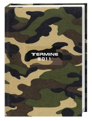 9783840103278: Terminer Camouflage A6 oliv 2011