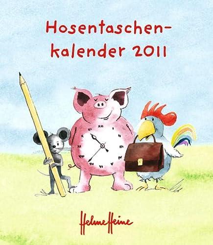 9783840103988: Helme Heine, Hosentaschenkalender 2011