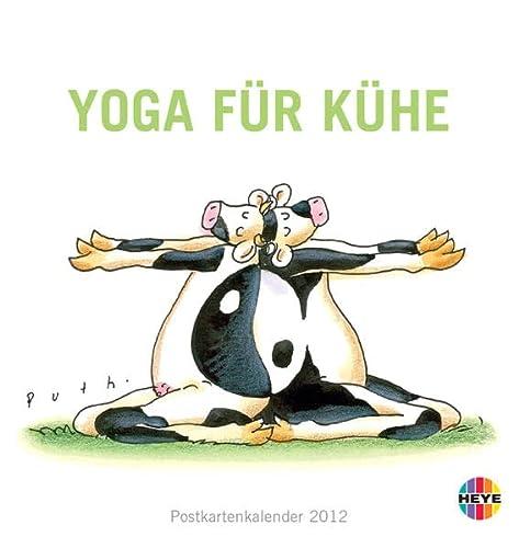 9783840113000: Yoga für Kühe 2012 Postkartenkalender
