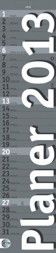 9783840114335: Planer long silber 2013