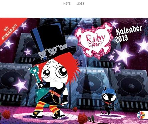 9783840116469: Ruby Gloom Spiral Date Book 2013