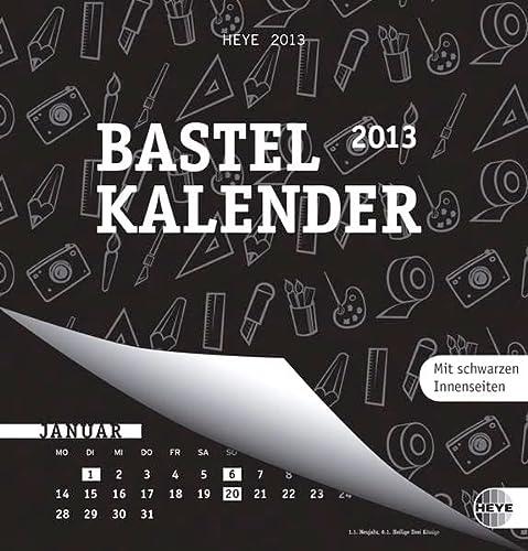 9783840117701: Bastelkalender 2013 schwarz