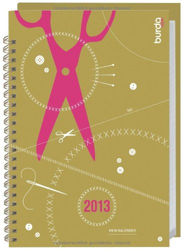9783840119491: Burda style Kalenderbuch 2013